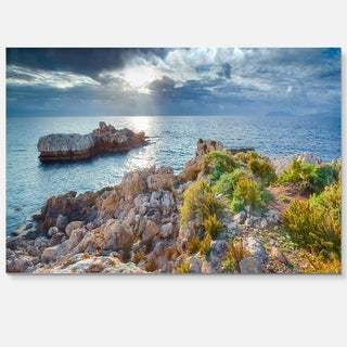 Piscina di Venere Reserve - Landscape Photo Glossy Metal Wall Art