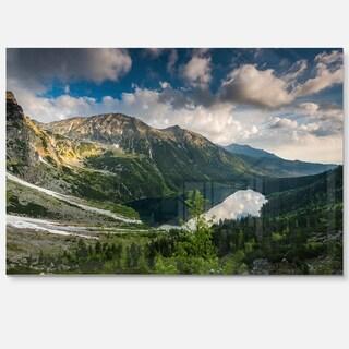 Summer at Polish Tatra Mountains - Landscape Glossy Metal Wall Art