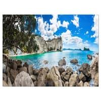 Nestor Notabilis Kea Panorama - Extra Large Seashore Glossy Metal Wall Art