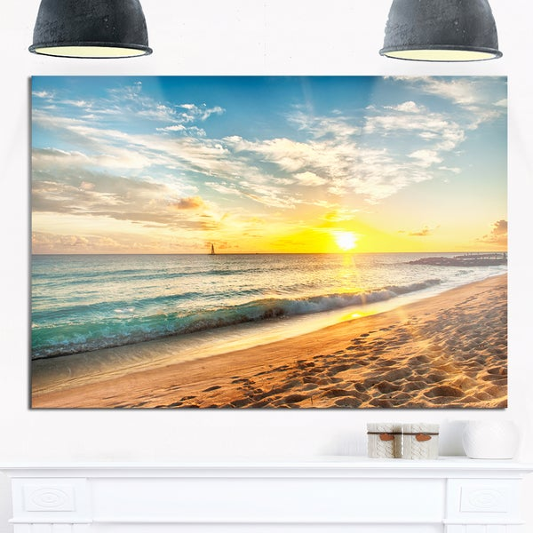 Awesome Beach Scenes Wall Art Pictures Inspiration - Wall Art Design ...