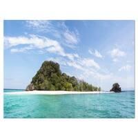 Blue Koh Khai Island Panorama - Large Seascape Glossy Metal Wall Art