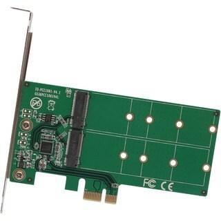 IO Crest 2 Port M.2 to PCI-e x1 Adapter B or B+M Key