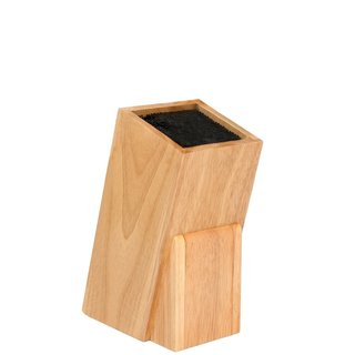 Melange Brown Woodgrain/Plastic Universal Knife Block