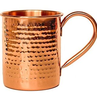 Melange Copper Classic Moscow Mule Mug (Set of 4 )