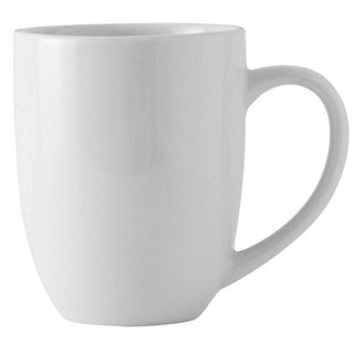 Melange Coupe White 36-piece 20-ounce Mug Set