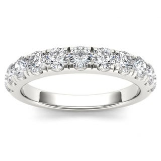 De Couer 14k White Gold 1ct TDW Wedding Band (H-I, I2)