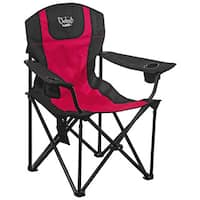Chaheati Maxx Red and Black Heated Chair