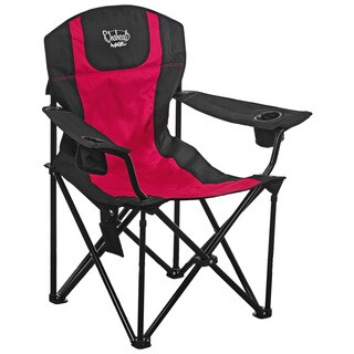 Chaheati Maxx Red and Black Heated Chair (Option: Red)
