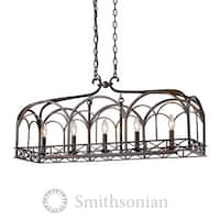 Golden Lighting Gateway Five-Light Linear Pendant