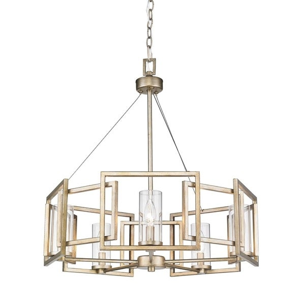 Shop Golden Lighting Marco Light Chandelier Sale Free Shipping Today