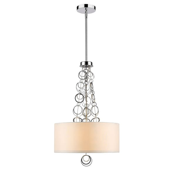 Golden Lighting #5050-3P CH Danica 3-lght Pendant