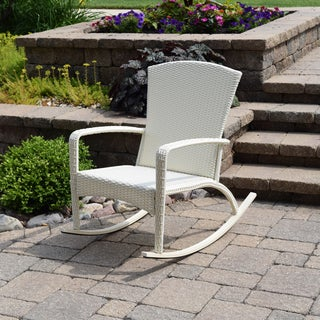Walden Adirondack Woven Rocking Chair
