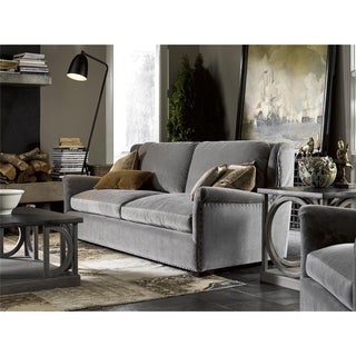 Haven Grey Velvet Sofa