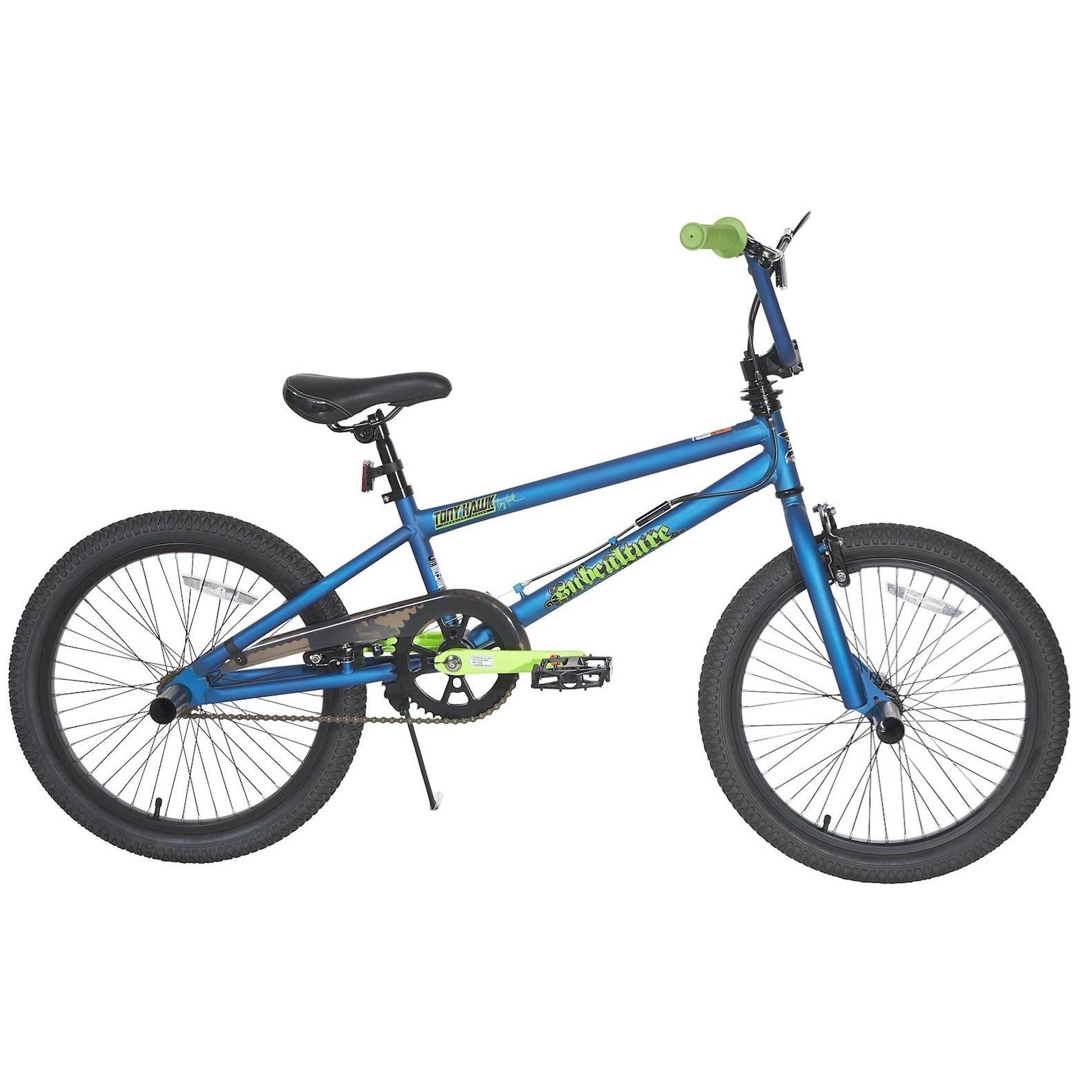 """Dynacraft Tony Hawk Subculture 20-inch Bike (20""""), Blue"""