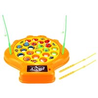 Velocity Toys Deep Sea Shell Fishing Game Playset - Orange