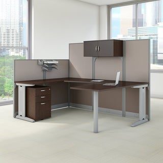 office in an hour u0027uu0027 workstation desk with storage and accessory kit