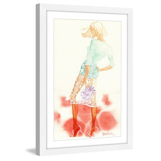 Marmont Hill - 'Summer Breeze' by Lovisa Oliv Framed Painting Print