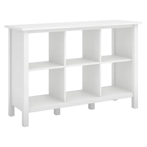 Copper Grove Rustavi 6-cube Storage Bookcase in Pure White