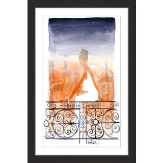 Marmont Hill - 'Paris' by Lovisa Oliv Framed Painting Print