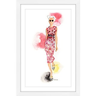 Marmont Hill - 'Miss Valli' by Lovisa Oliv Framed Painting Print