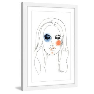 Marmont Hill - 'Beauty' by Lovisa Oliv Framed Painting Print