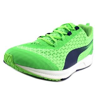 Puma Men's Ignite XT Filtered Green Mesh Athletic Shoes