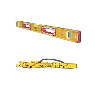 Stabila 37436 Heavy Duty 36-Inch Type 196 Construction Level w/ 5-Pocket Case