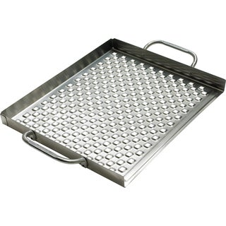 "Broil King 69712 2.25"" H X 18.75"" L X 13.38"" D Stainless Steel Grill Topper"