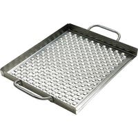 """Broil King 69712 2.25"""" H X 18.75"""" L X 13.38"""" D Stainless Steel Grill Topper"""