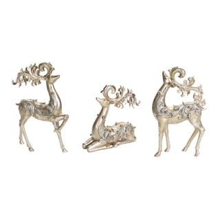 Gold and Silver Deer (Pack of 3)
