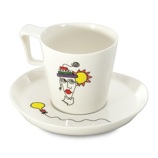 Eclipse Codriez Porcelain Breakfast Cup and Saucer