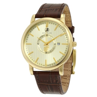 Brooklyn Watch Co. Myrtle II Classic Goldtone Dial Men's Watch