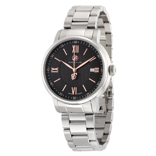 Brooklyn Men's Livingston Black Dial Classic Watch