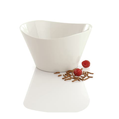BergHOFF Eclipse White Porcelain 0.65-liter Cereal Bowls (Set of 2)