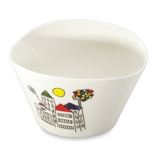 BergHOFF Eclipse Codriez White Porcelain 0.75-liter Cereal Bowl (Set of 2)
