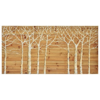 Renwill 'Wildwood' Wood Unframed Wall Decor