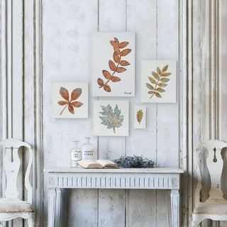 Renwill 'The Fronds' Unframed 5-piece Wall Decor