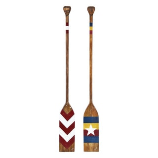 Paddle Pair' Unframed Wall Decor