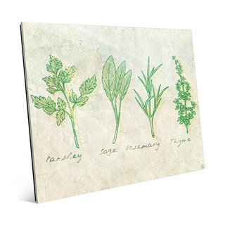 Herbs Acrylic Wall Art