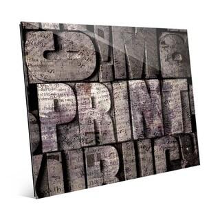 Box Print' Acrylic Wall Art