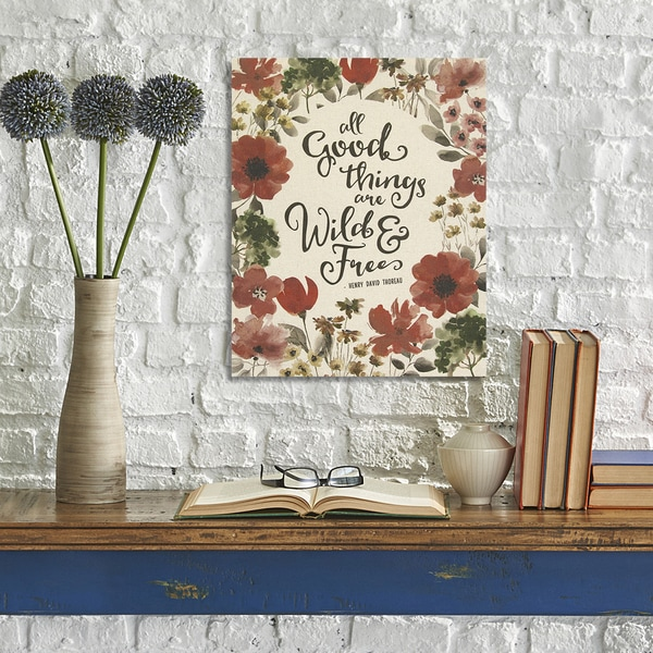 Shop Stratton Home Decor 'All Good Things Are Wild And