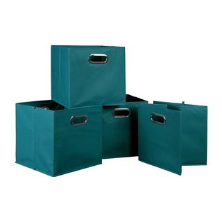 Niche Cubo Teal Fabric Foldable Storage Bins