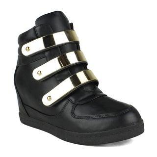 Fahrenheit Alison-13 Wedge Sneaker