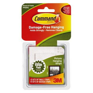 Command Strips 17203 Command Picture Hanging Strips Combo Pack