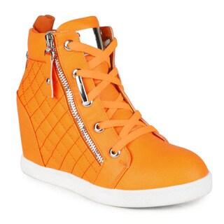 Fahrenheit Alison-14 Women's Wedge Sneaker