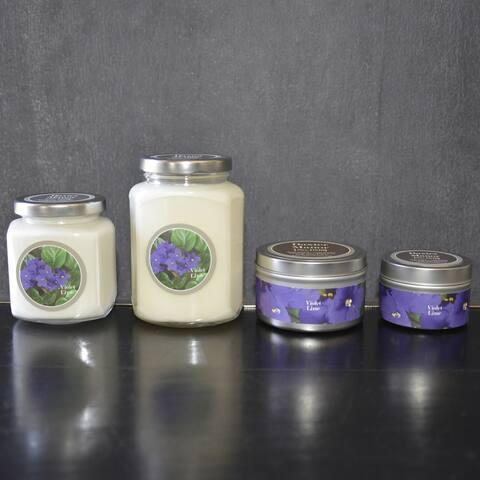 Baxter Manor Violet Lime Candles