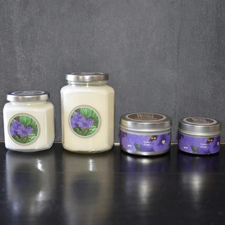 Baxter Manor Violet Lime Candles