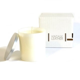 Baxter Manor Leather Scented Candle