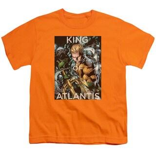 JLA/King Of Atlantis Short Sleeve Youth 18/1 Orange