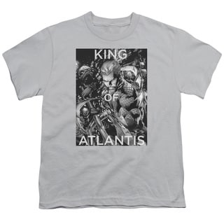 JLA/King Of Atlantis Short Sleeve Youth 18/1 Silver